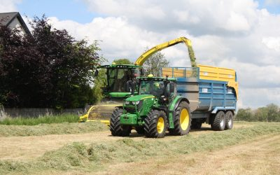 Making quality silage in Co. Tipperary
