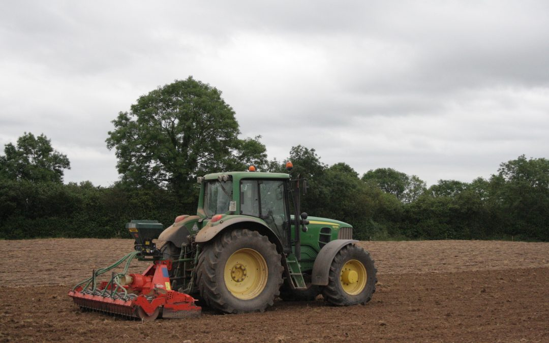 Autumn Reseeding – Time to catch up